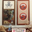 """Designs O'Bryan"" By Ginnie Thompson Counted Cross Stitch Leaflet"