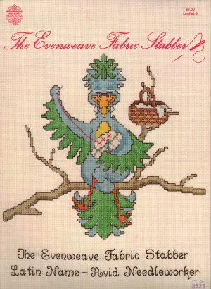"""The Evenweave Fabric Stabber"" By Gloria & Pat - Counted Cross Stitch Leaflet"