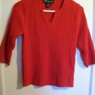 No Boundries - Red Pullover Sweater - Size Juniors Medium 7/9