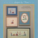 """Just Folk"" By Nanci - Counted Cross Stitch Leaflet"