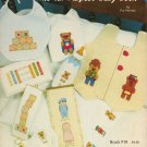 """""""The All-Purpose Baby Book"""" By Pat Mertes - Counted Cross Stitch Book"""