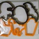 Halloween Cookie Cutters - 6 Pack - *NIP*