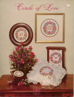 """""""Circle Of Love"""" - Counted Cross Stitch Leaflet"""