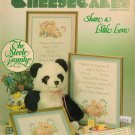 "Cheesecakes ""Share A Little Love"" Counted Cross Stitch Leaflet"