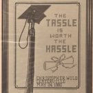 For The Graduate - Counted Cross Stitch Pattern