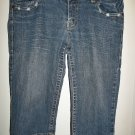 Bongo Blue Jean Capris - Size 7