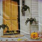 (3) Hanging Spiders - Halloween Yard Decoration - *NIP*