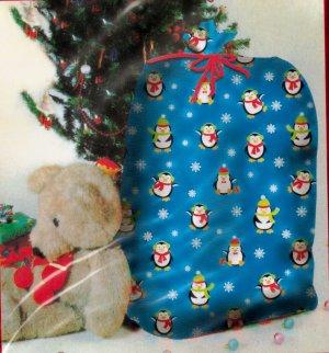 """Giant Penguin Gift Bag - 36"""" X 44"""" - *NIP*"""