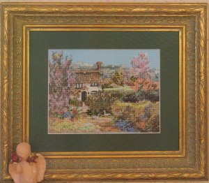 Marty Bell's English Countryside IV - Hideaway Cottage - Cross Stitch Leaflet