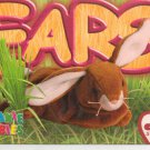 TY Beanie Baby Card # 177 Ears the Brown Rabbit-Style # 4018-2nd Ed -Ser 4-1999