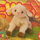 TY Beanie Baby Card # 181 Ewey the Lamb-Style # 4219-2nd Ed -Ser 4-1999