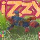 TY Beanie Baby Card #206 Lizzy the Ty-Dye Lizard-Style # 4033-2nd Ed -Ser 4-1999
