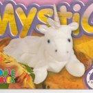 TY Beanie Baby Card # 211 Mystic the Unicorn -Style # 4007-2nd Ed -Ser 4-1999