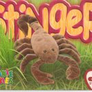 TY Beanie Baby Card # 237 Stinger the Scorpion-Style # 4193-2nd Ed -Ser 4-1999