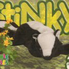 TY Beanie Baby Card # 238 Stinky the Skunk-Style # 4017-2nd Ed -Ser 4-1999