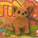TY Beanie Baby Card # 248 Tiny the Chihuahua-Style # 4234-2nd Ed -Ser 4-1999
