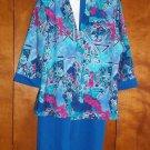 3 pc. Ladies Dress - Size 12P - Dress, Jacket, Belt