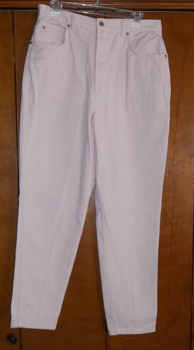 Light Pink Jeans  - Size 16 (Stefano International)