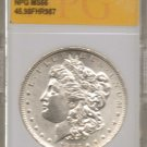1883 0 Morgan Silver Dollar NPG NS66 45.98FHR987