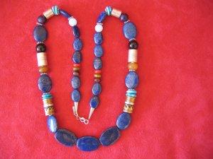 Tommy Singer 30 inch Lapis Lazuli Necklace