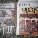 Christmas Crafts & Pillow Pattern 6907 & 9555