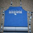Kentucky Big Blue Full Bib Apron Reversible w/Pocktes