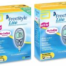 2 Freestyle Lite Blood Glucose Monitoring Systems