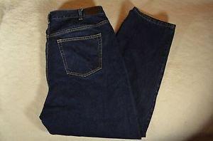 Women's Lands' End Jeans 18W 100% Cotton Dk Blue RN 62830 5 Pockets