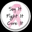 Say it Fight it Cure it