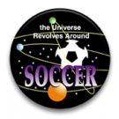 The universe revolves around soccer