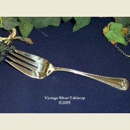 International Silver Silverplate 'Ashford' Cold Meat Fork - New Old Stock