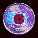 Canadian Rememberance Day Quarter