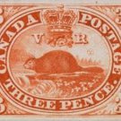 First Canadian Stamp