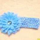 Blue w/ blue flower