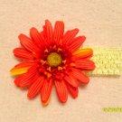 Ivory w/ orange flower