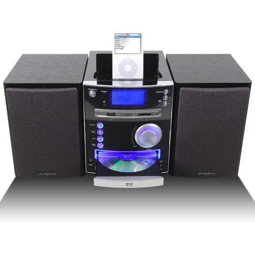 iSymphony M2i DVD Player iPod Docking Station System