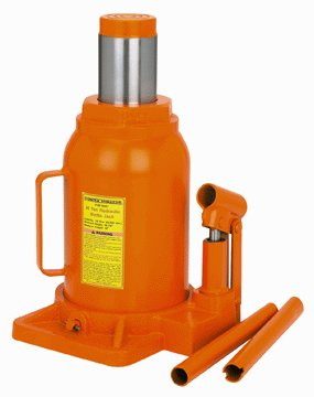 30 Ton HD Industrial Hydraulic Bottle Jack
