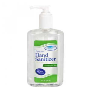 10 Antiseptic Hand Sanitizer Pump 8oz