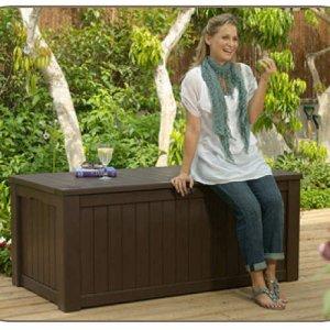 Deck Storage Box, Lockable, 150 Gallan Capacity