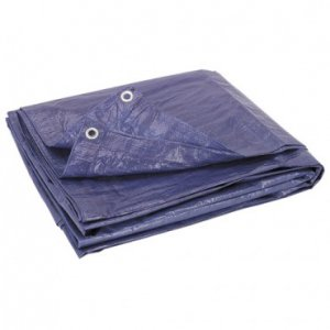 Tarp Cover Blue - 5.5' x 7.5' feet - All Purpose
