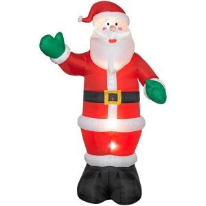 12 ft. Lighted Santa Airblown Airblown Inflatable