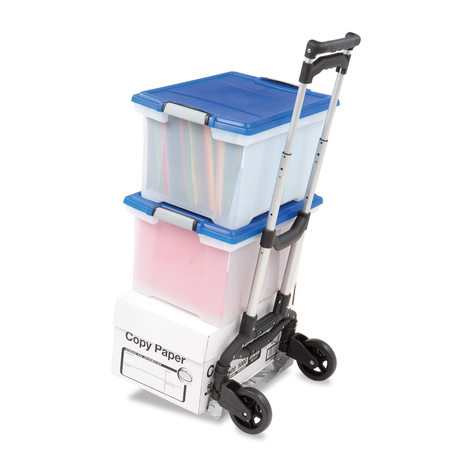 Cart Personal Hand Truck Dolly Holds 150Lbs