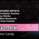 Zeek Cocktail Cotton Candy Zombie Soda (4 x 12oz.)