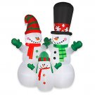 12' snowman family - Airblown® Inflatable