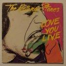 "Rolling Stones - Love You Live (Columbia COC 2-9001) 1977 12"" 2xLP"