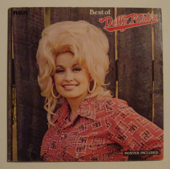 "Dolly Parton - Best of Dolly Parton (RCA APL 1-1117) 12"" LP"