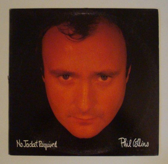 "Phil Collins - No Jacket Required (Atlantic A1 81240) 12"" LP"