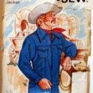 Kwik Sew 459 - Western Jean Jacket