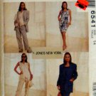 Mccalls 6541 - Misses Jacket, Vest, Dress & Pants