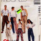Mccalls 7684 - Mens Pull On Pants Sewing Pattern